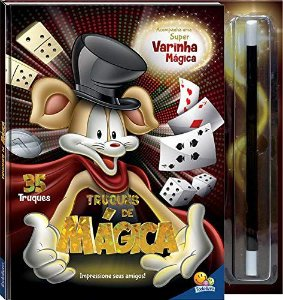LIVRO CD TRUQUES DE MAGICA TODO O LIVRO