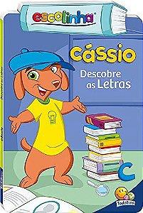 LIVRO CD CASSIO DESCOBRE AS LETRAS ESCOLINHA TODO O LIVRO