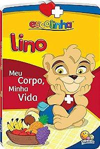 LIVRO CD LINO MEU CORPO MINHA VIDA ESCOLINHA TODO O LIVRO
