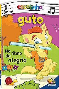 LIVRO CD GUTO NO RITMO DA ALEGRIA ESCOLINHA TODO O LIVRO