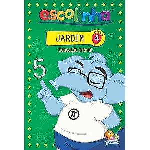 LIVRO EDUCACAO INFANTIL VOL 4 JARDIM ESCOLINHA TODO O LIVRO