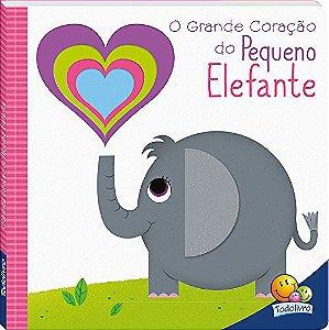 LIVRO CD O GRANDE CORACAO DO PEQUENO ELEFANTE TODO O LIVRO