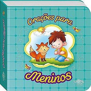 LIVRO CD ORACOES PARA MENINOS ORACOES PARA OS PEQUENINOS SBN