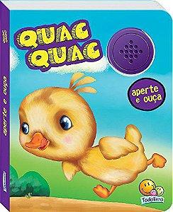LIVRO CD QUAC QUAC APERTE E OUCA TODO O LIVRO