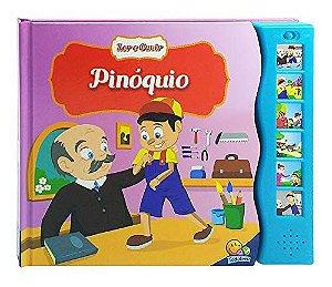 LIVRO HISTORIA CD MUSICAL PINOQUIO TODO O LIVRO