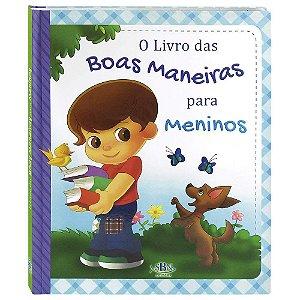 LIVRO CD BOAS MANEIRAS PARA MENINOS SBN TODO O LIVRO