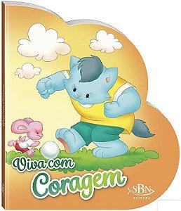 LIVRO CD VIVA COM CORAGEM VIVENDO COM JESUS TODO O LIVRO