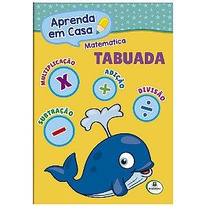 LIVRO MATEMATICA TABUADA APRENDA EM CASA BRASILEITURA