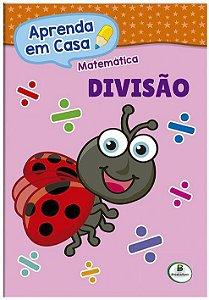 LIVRO MATEMATICA DIVISAO APRENDA EM CASA BRASILEITURA