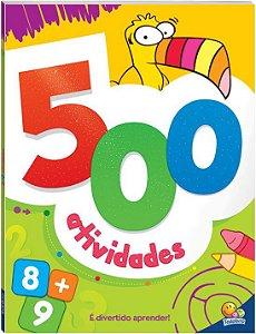LIVRO 500 ATIVIDADES LARANJA TODO O LIVRO