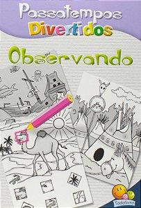LIVRO PASSATEMPOS DIVERTIDOS C/ 10UN BRASILEITURA TODO O LIVRO
