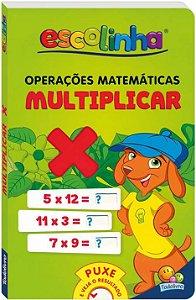 LIVRO CD OPERACOES MATEMATICA MULTIPLICAR ESCOLINHA TODO O LIVRO