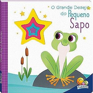 LIVRO CD O GRANDE DESEJO DO PEQUENO SAPO TODO O LIVRO