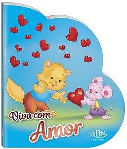 LIVRO CD VIVA COM AMOR VIVENDO COM JESUS TODO O LIVRO