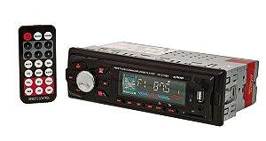 RADIO AUTOMOTIVO 4X60W FM/USB/SD/AUX KANUP KP-C15BH