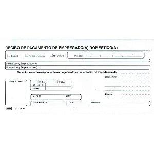 RECIBO DE PAGAMENTO DE EMPREGADO DOMESTICO TILIBRA