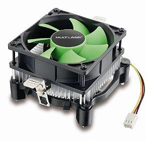 COOLER INTEL 1155/1156/1150/775 AMD 754/AM3/AM2 MULTILASER GA120