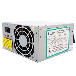 FONTE ALIMENTACAO 250W ATX BRAZIL PC
