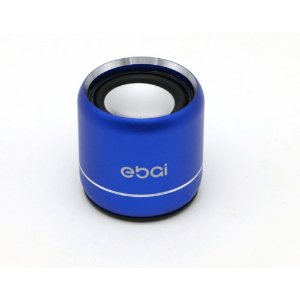 CAIXA SOM BLUETOOTH MINI SPEAKER EBAI AZUL FZF-19YX2
