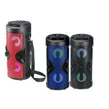 CAIXA SOM BLUETOOTH USB/FM/SD VERMELHO XZHANG XZK-4209