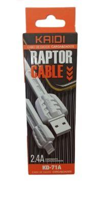 CABO USB APPLE 1 MT KAIDI KD-71A