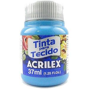 TINTA TECIDO 37ML AZUL MAR ACRILEX 535