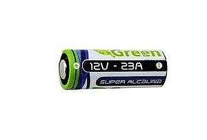 PILHA ALCALINA A23 12V UN GREEN 013-1223