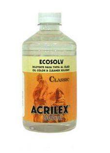 ECOSOLV 500ML ACRILEX