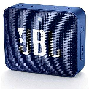 CAIXA SOM BLUETOOTH JBL GO 2 AZUL ORIGINAL IPX7 2