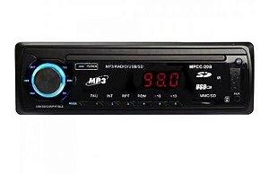RADIO AUTOMOTIVO 4X60W FM/USB/SD/AUX DEH-8601BT