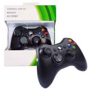 CONTROLE XBOX 360 S/ FIOX ZHANG X-360-1
