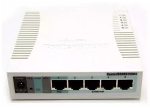 ROTEADOR MIKROTIK RB260GS ROUTERBOARD 260GS