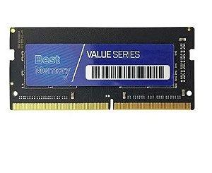 MEMORIA NOTEBOOK 4.0 GB DDR4 2400 BEST MEMORY
