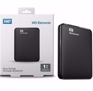 HD EXTERNO 1 TERA USB 3.0 WESTERN DIGITAL WDBUZG0010BBK