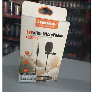 PEGAR MICROFONE P/CELULAR CABO 1,5M LAPELA EC10259