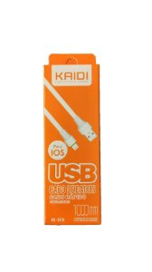 CABO USB APPLE 1 MT KAIDI KD-307A