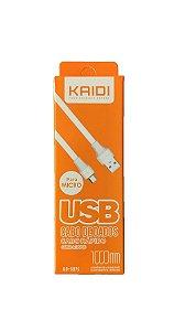 CABO USB V8 1 MT KAIDI KD-307S