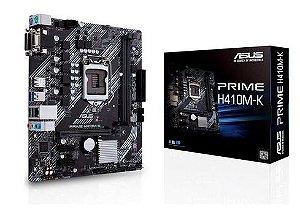 PLACA MÃE PC 1200 DDR4 ASUS H410-K