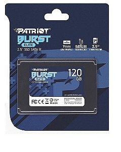 HD SSD  120 GB SATA 3 PATRIOT PE000775-PBE120GS25SSDR