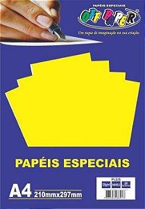 PAPEL COLOR PLUS A4 20F 180GR AMARELO OFF PAPER