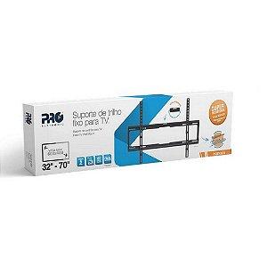 SUPORTE TV FIXO INCLINAVEL 32 A 70 PRO-ELETRONIC PQST-3270