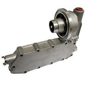 conjunto radiador de oleo montado cummins serie c