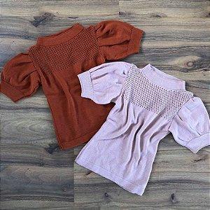 Blusa de Tricot Princesa Telinha