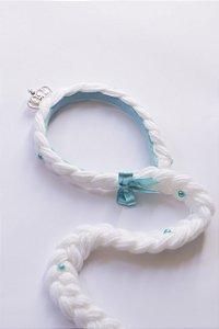 Tiara de Cabelo Infantil Princesa Branca