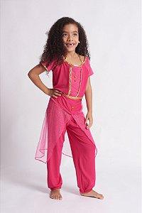 Conjunto Infantil Princesa Rosa