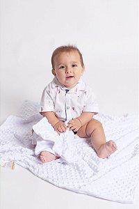 Body Camisa Bebê Barquinhos