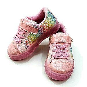 Tênis star light - rosa