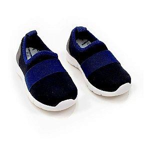 Tênis Jogging- preto/azul