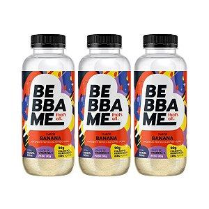 Trio Bebba Me Drink Shake - Sabor Banana (3 unid.)