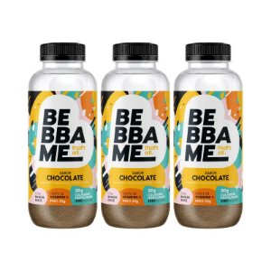 Trio Bebba Me Drink Shake - Sabor Chocolate (3 unid.)